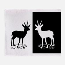 Gazelle Throw Blanket