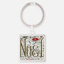 Bohemian Christmas Joyeux Noel Keychains