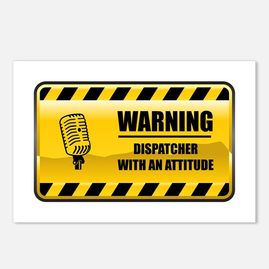Warning Dispatcher Postcards (Package of 8)