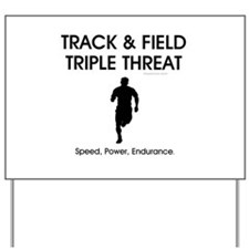 TOP Track and Field Yard Sign