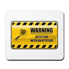 Warning Detective Mousepad