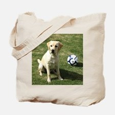Funny Yellow lab Tote Bag