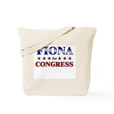 FIONA for congress Tote Bag