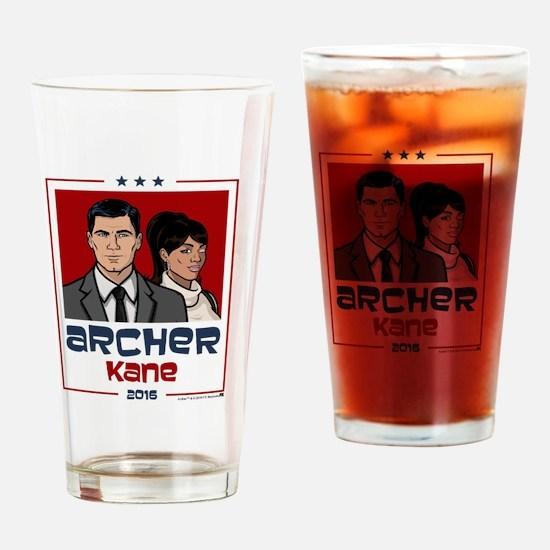 Archer Kane 2016 Drinking Glass