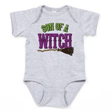 Son of a Witch Baby Bodysuit