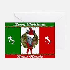 Donkey Christmas Italian Greeting Cards (Pk of 20)