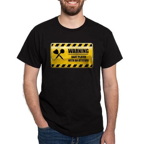 Warning Dart Player Dark T-Shirt