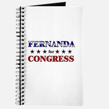 FERNANDA for congress Journal