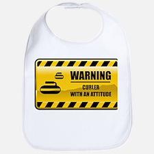 Warning Curler Bib