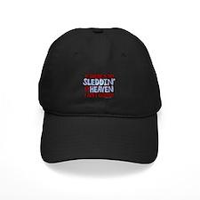 Sleddin' in Heaven Baseball Hat