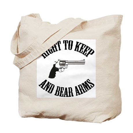 Right To Keep And Bear Arms Tote Bag