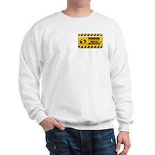 Warning Crocheter Sweatshirt