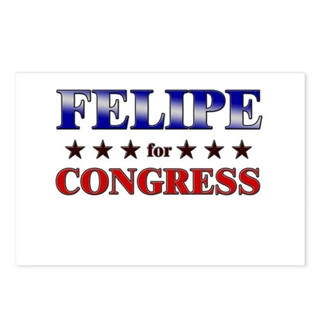 FELIPE for congress Postcards (Package of 8)