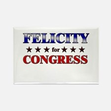 FELICITY for congress Rectangle Magnet