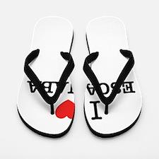 I Love ESCANABA Flip Flops