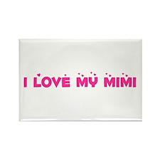 I Love My MiMi Rectangle Magnet