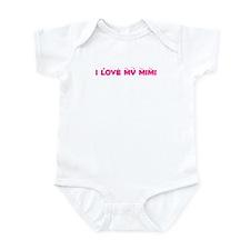 I Love My MiMi Infant Bodysuit