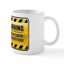 Warning Crane Operator Small Mugs
