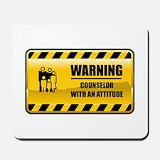 Warning Counselor Mousepad