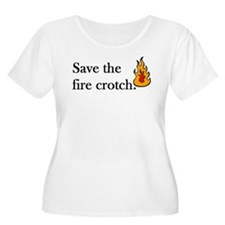 firecrotch Plus Size T-Shirt