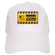 Warning Cotton Grower Baseball Cap