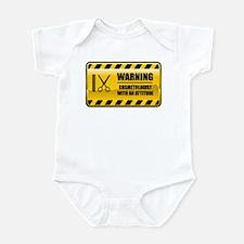 Warning Cosmetologist Infant Bodysuit