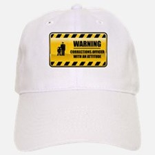 Warning Corrections Officer Baseball Baseball Cap