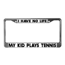 My Kid Plays Tennis License Plate Frame
