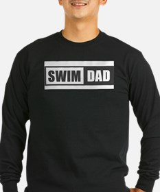 Swim Dad Long Sleeve T-Shirt
