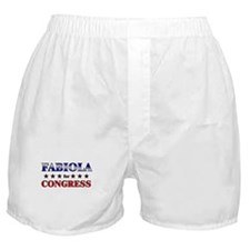FABIOLA for congress Boxer Shorts