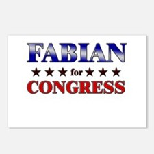 FABIAN for congress Postcards (Package of 8)