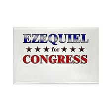 EZEQUIEL for congress Rectangle Magnet