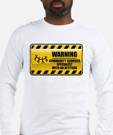 Warning Community Services Specialist Long Sleeve