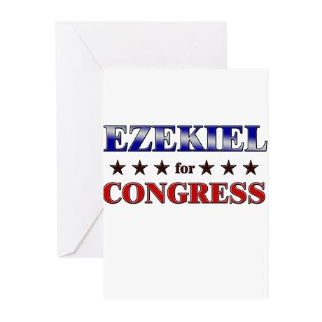 EZEKIEL for congress Greeting Cards (Pk of 20)