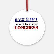 EZEKIEL for congress Ornament (Round)