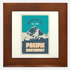 Pacific Northwest. Framed Tile