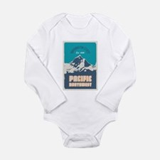 Pacific Northwest. Long Sleeve Infant Bodysuit