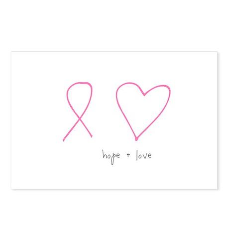 Hope + Love Postcards (Package of 8)