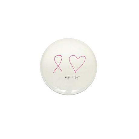 Hope + Love Mini Button (10 pack)