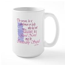Jane Austen Novel quote Mug