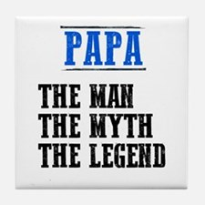 He's a Legend! Tile Coaster