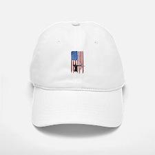 USA Flag Team Archery Baseball Baseball Cap