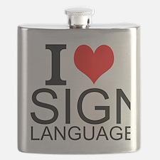 I Love Sign Language Flask