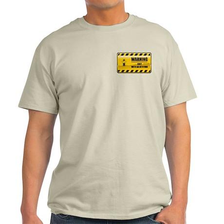 Warning Chef Light T-Shirt