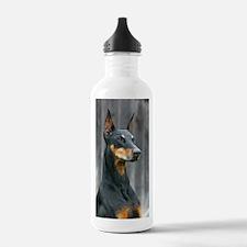 Cute Doberman Water Bottle