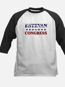 ESTEVAN for congress Kids Baseball Jersey