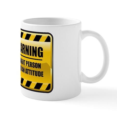 Warning Cement Person Mug
