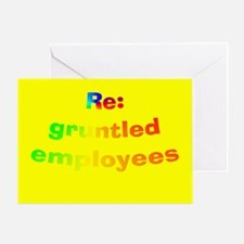 """""""Gruntled"""" Bosses Day Cards"""