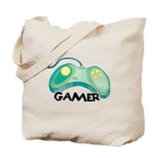 Gamer (Video Game Controller) Design Tote Bag