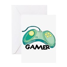 Gamer (Video Game Controller) Design Greeting Card